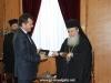08ممثلية من سلاح البحرية والشرطة اليونانية تزور البطريركية