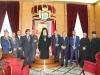 10ممثلية من سلاح البحرية والشرطة اليونانية تزور البطريركية