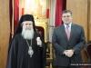 02قنصل الولايات المتحدة الامريكية الجديد في القدس يزور البطريركية الاورشليمية