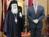 03قنصل الولايات المتحدة الامريكية الجديد في القدس يزور البطريركية الاورشليمية