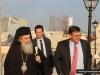 07قنصل الولايات المتحدة الامريكية الجديد في القدس يزور البطريركية الاورشليمية