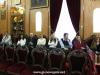 01-1مجموعة من الصحفيين اليونانيين في زيارة الى البطريركية الاورشليمية