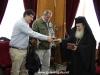 01-2مجموعة من الصحفيين اليونانيين في زيارة الى البطريركية الاورشليمية