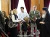 01-5مجموعة من الصحفيين اليونانيين في زيارة الى البطريركية الاورشليمية
