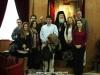 01-6مجموعة من الصحفيين اليونانيين في زيارة الى البطريركية الاورشليمية