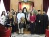 01-8مجموعة من الصحفيين اليونانيين في زيارة الى البطريركية الاورشليمية