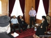 06القائد العسكري لمنطقة السامرة يزور البطريركية