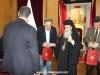 04عمداء جامعات اليونان يزورون البطريركية الاورشليمية