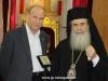09عمداء جامعات اليونان يزورون البطريركية الاورشليمية