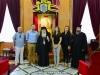 0006مجموعة ازالة الالغام التابعة للامم المتحدة تزور البطريركية
