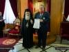 08وزير الخارجية اليوناني يزور البطريركية الاورشليمية