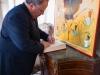 13وزير الخارجية اليوناني يزور البطريركية الاورشليمية