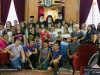 01-7مجموعة من الشبيبة الاورثوذكسية في الناصرة تزور البطريركية