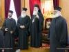 01-8مجموعة من الشبيبة الاورثوذكسية في الناصرة تزور البطريركية