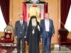 07ممثلون عن جامعة ابو ديس يزورون البطريركية