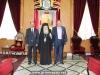 08ممثلون عن جامعة ابو ديس يزورون البطريركية
