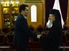01-3وزير الدفاع القبرصي يزور البطريركية الاورشليمية