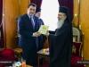 01-4وزير الدفاع القبرصي يزور البطريركية الاورشليمية