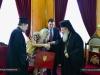 01-7وزير الدفاع القبرصي يزور البطريركية الاورشليمية