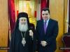 01-8وزير الدفاع القبرصي يزور البطريركية الاورشليمية