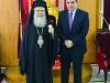 01-9وزير الدفاع القبرصي يزور البطريركية الاورشليمية