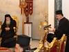 """04قطع كعكة رأس السنة """" الفاسيلوبيتا """" في البطريركية ألاورشليمية"""