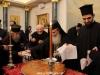 """07قطع كعكة رأس السنة """" الفاسيلوبيتا """" في البطريركية ألاورشليمية"""