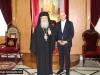 06وزير الصحة القبرصي يزور البطريركية