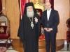 07وزير الصحة القبرصي يزور البطريركية