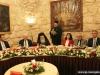 10مائدة طعام على شرف رئيس السلطة الفلسطينية