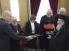 وفد من الكنيسة الكاثوليكية والكينسة اللوثرية يزور البطريركية ألاورشليمية07