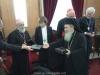 وفد من الكنيسة الكاثوليكية والكينسة اللوثرية يزور البطريركية ألاورشليمية08