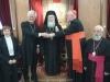 وفد من الكنيسة الكاثوليكية والكينسة اللوثرية يزور البطريركية ألاورشليمية11