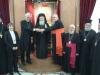 وفد من الكنيسة الكاثوليكية والكينسة اللوثرية يزور البطريركية ألاورشليمية12
