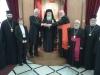 وفد من الكنيسة الكاثوليكية والكينسة اللوثرية يزور البطريركية ألاورشليمية13