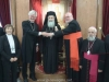 وفد من الكنيسة الكاثوليكية والكينسة اللوثرية يزور البطريركية ألاورشليمية14