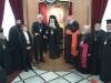 وفد من الكنيسة الكاثوليكية والكينسة اللوثرية يزور البطريركية ألاورشليمية15