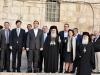 11رئيس وزراء اليونان يراقب أعمال مشروع إصلاح القبر المقدس