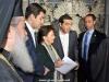 38رئيس وزراء اليونان يراقب أعمال مشروع إصلاح القبر المقدس