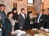 76رئيس وزراء اليونان يراقب أعمال مشروع إصلاح القبر المقدس