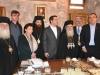 81رئيس وزراء اليونان يراقب أعمال مشروع إصلاح القبر المقدس