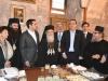 82رئيس وزراء اليونان يراقب أعمال مشروع إصلاح القبر المقدس