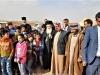 01-10غبطة البطريرك يزور مخيم اللاجئين السوريين في ألاردن