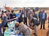 01-12غبطة البطريرك يزور مخيم اللاجئين السوريين في ألاردن