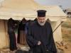 01-2غبطة البطريرك يزور مخيم اللاجئين السوريين في ألاردن