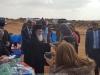 01-6غبطة البطريرك يزور مخيم اللاجئين السوريين في ألاردن