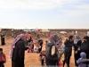 01-9غبطة البطريرك يزور مخيم اللاجئين السوريين في ألاردن