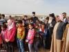 03غبطة البطريرك يزور مخيم اللاجئين السوريين في ألاردن