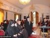 01المحاضرة والباحثة الجامعية السيدة أنطونيا ميروبولوس تعرض دراسة ترميم بناء القبر المقدس على ممثلي الكنائس المسيحية في القدس