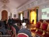 03المحاضرة والباحثة الجامعية السيدة أنطونيا ميروبولوس تعرض دراسة ترميم بناء القبر المقدس على ممثلي الكنائس المسيحية في القدس